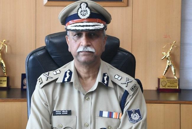Senior IPS officer Vivek Johri