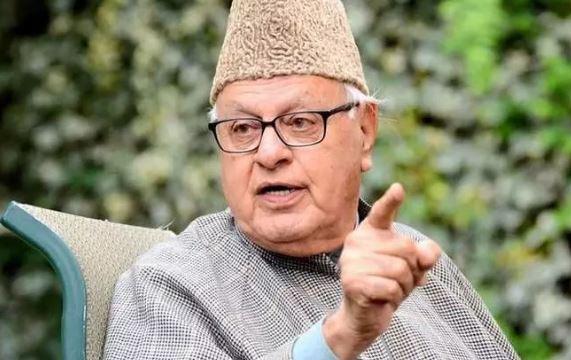 Former chief minister Farooq Abdullah (File Photo)