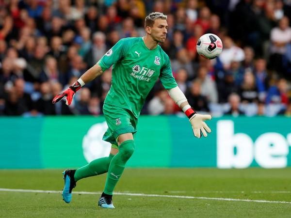 Crystal Palace's goalkeeper Vicente Guaita