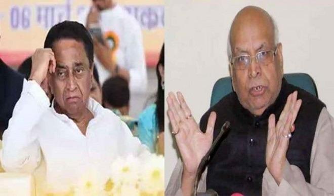 Madhya Pradesh Governor Lalji Tandon and  Chief Minister Kamal Nath