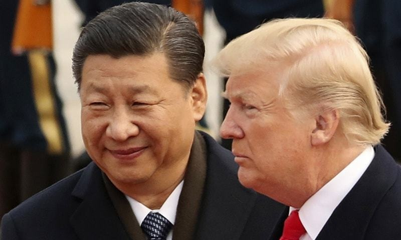 President Xi Jinping in a call with his US counterpart Donald Trump