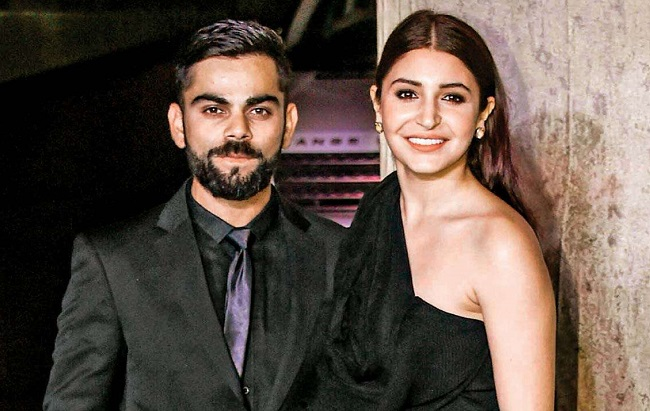 Virat Kohli and his wife Anushka Sharma