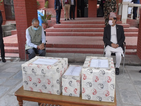 """Nepal Prime Minister KP Sharma Oli thanked Indian counterpart Narendra Modi for """"India's generous support"""" of 23 tonnes of essential medicines."""