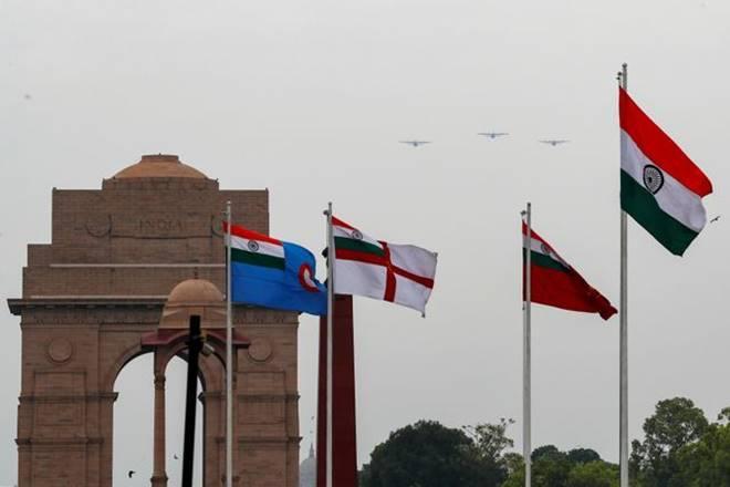 Delhi Saluting Covid-19 warriors