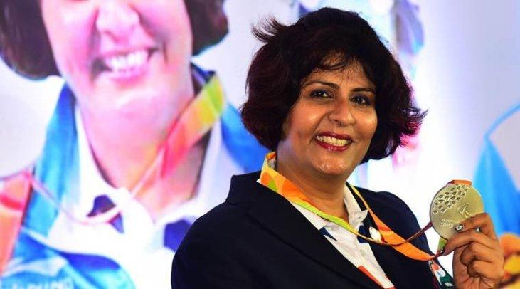 Para-athlete Deepa Malik