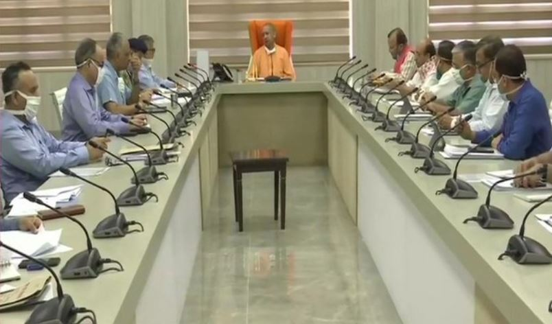 Yogi Adityanath holds meeting with officers of 'COVID-19 management Team-11'
