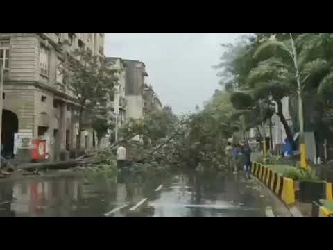 Cyclone: Rains cause water-logging in Pune