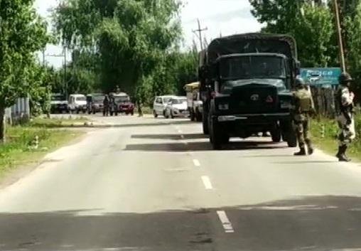 Baramulla-Handwara highway