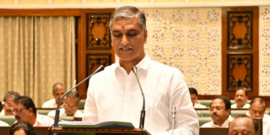 Telangana Finance Minister Harish Rao