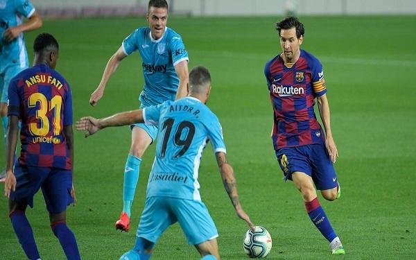 liga barcelona leganes defeat