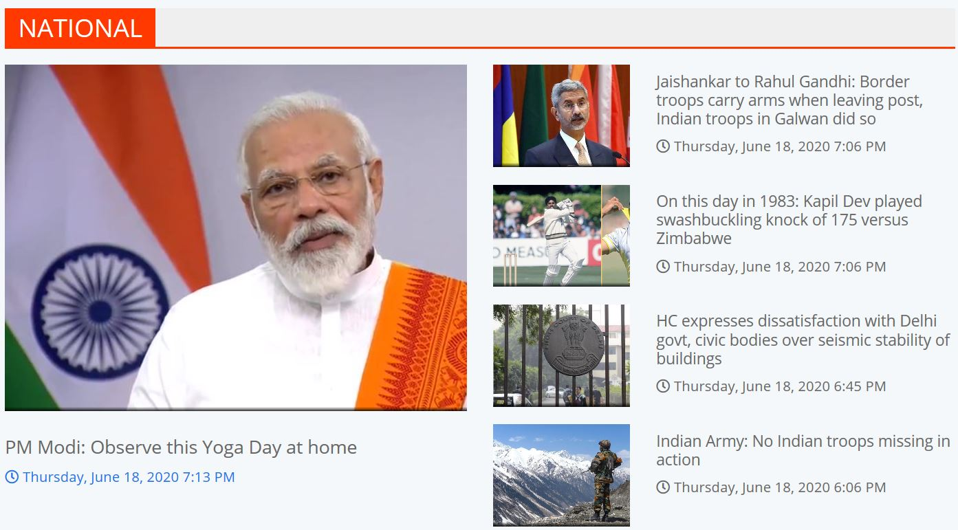Top News of the day