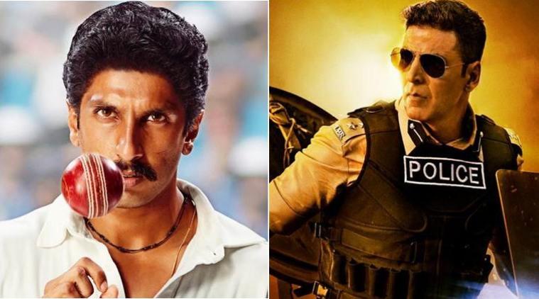 cop action thriller 'Sooryavanshi' and sports drama '83'