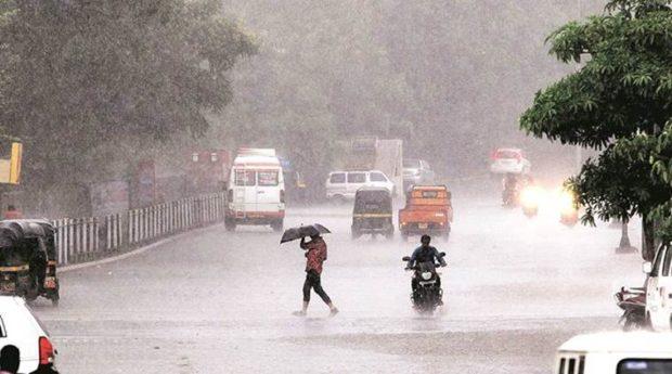 Rain in the state