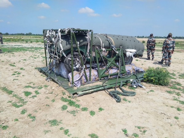 DRDO has developed P7 Heavy Drop System which is capable of para dropping military stores up to 7-ton weight class from IL 76 aircraft.