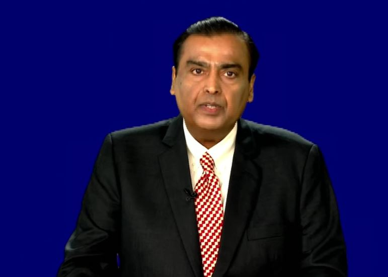 RIL Chairman Mukesh Ambani