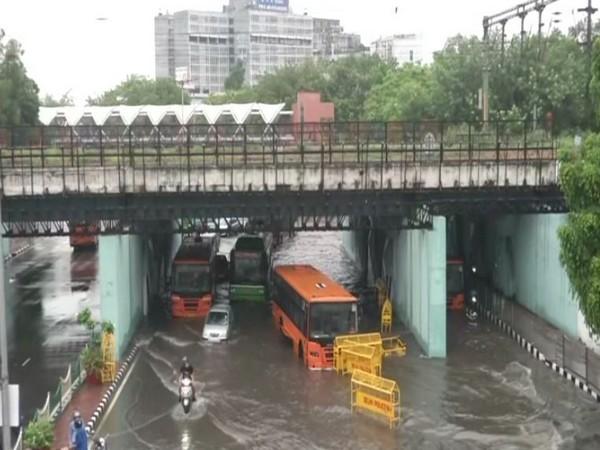 Visual of ITO area in Delhi on Sunday morning.