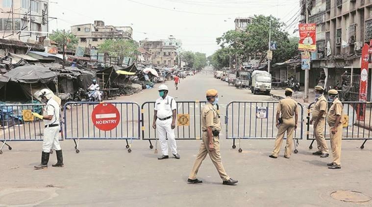 Kolkata in Lock down