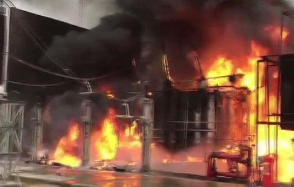 Fire breaks out at NPCL