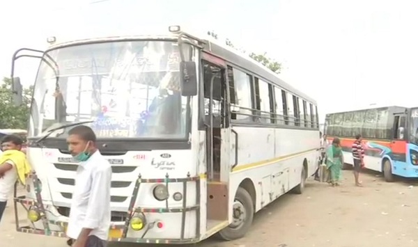 Bus services resume in Bihar