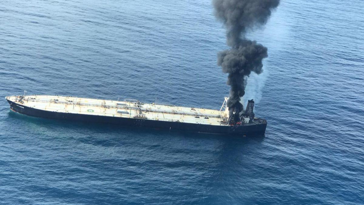 Oil tanker MT New Diamond (File Photo)