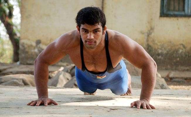 Indian wrestler  Narsingh Yadav