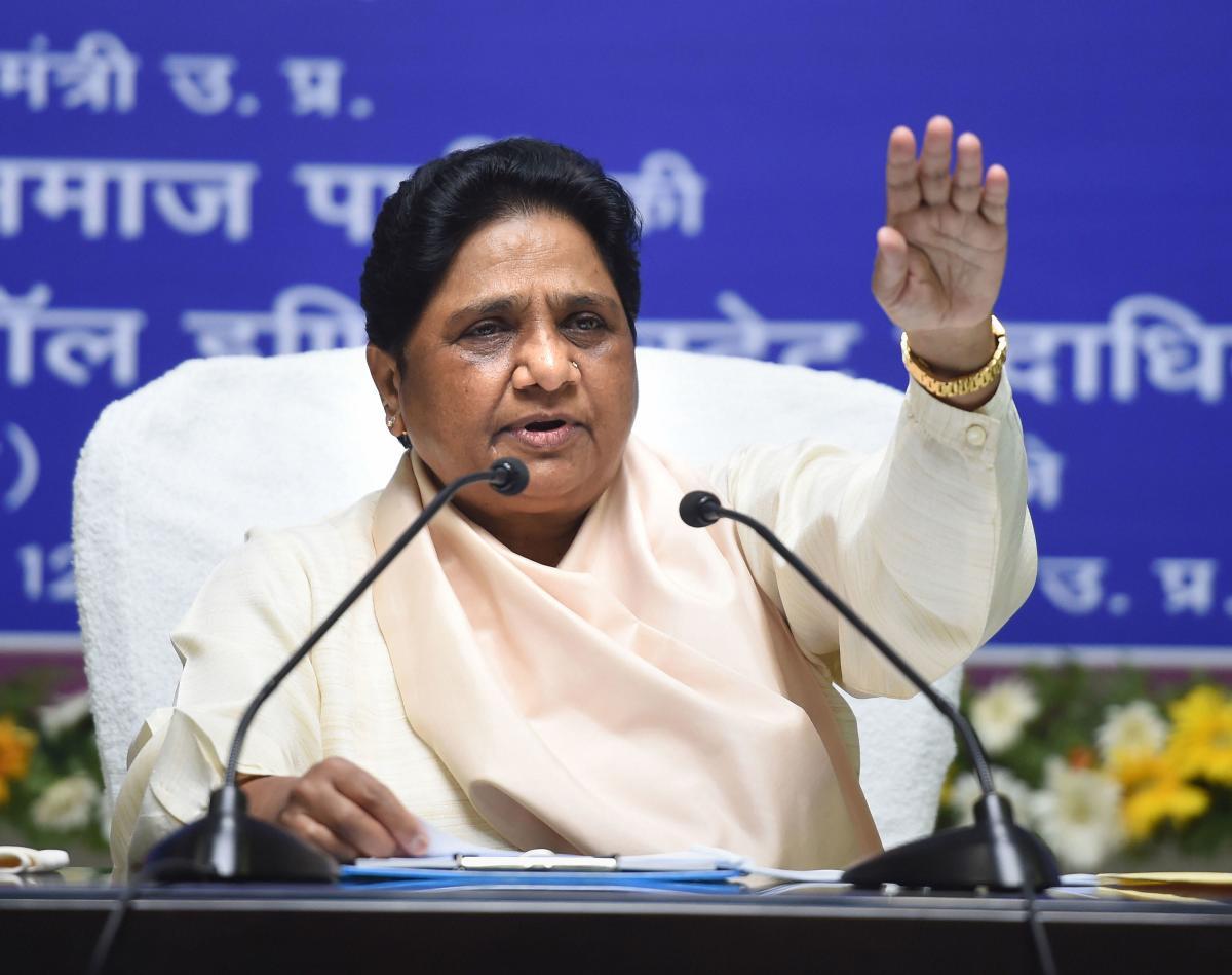 Mayawati attacks UP govt over crimes against women
