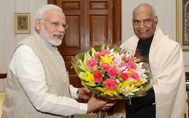 President Ram Nath Kovind and Prime Minister Narendra Modi (File Photo)