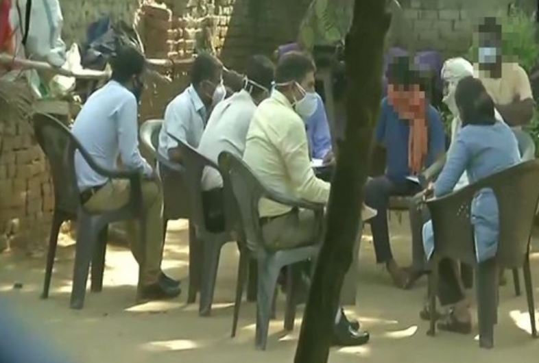 The SIT on Sunday recorded the statement of the family members of the Hathras victim