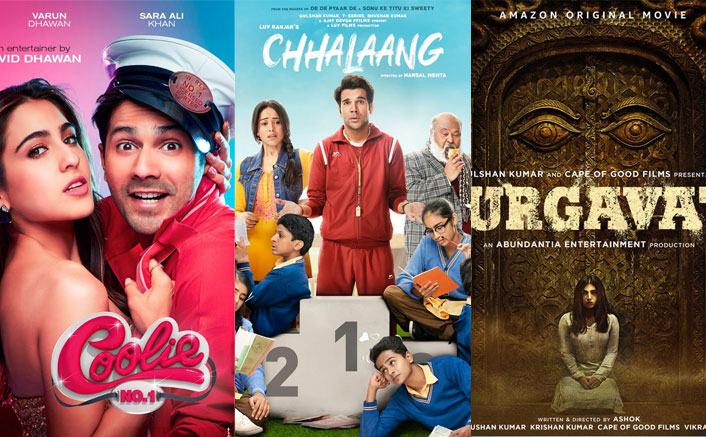 Posters of the films to be released on Amazon Prime Video