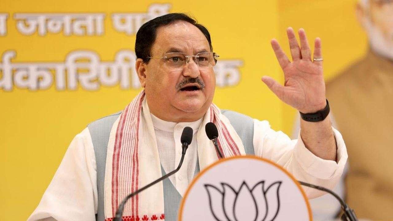 BJP national president JP Nadda
