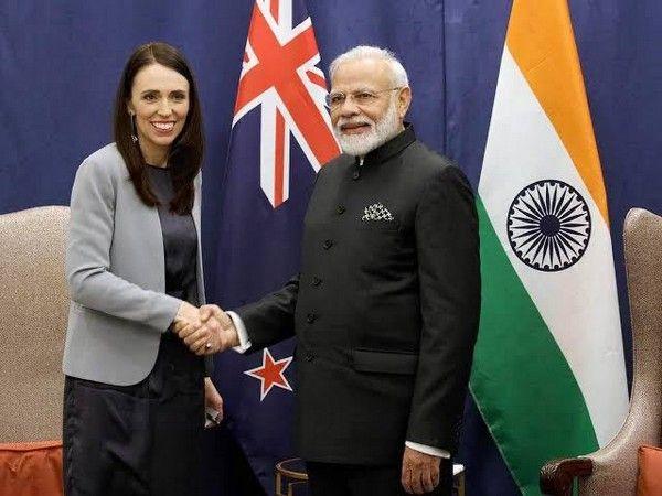 Prime Minister Narendra Modi and New Zealand counterpart Jacinda Ardern