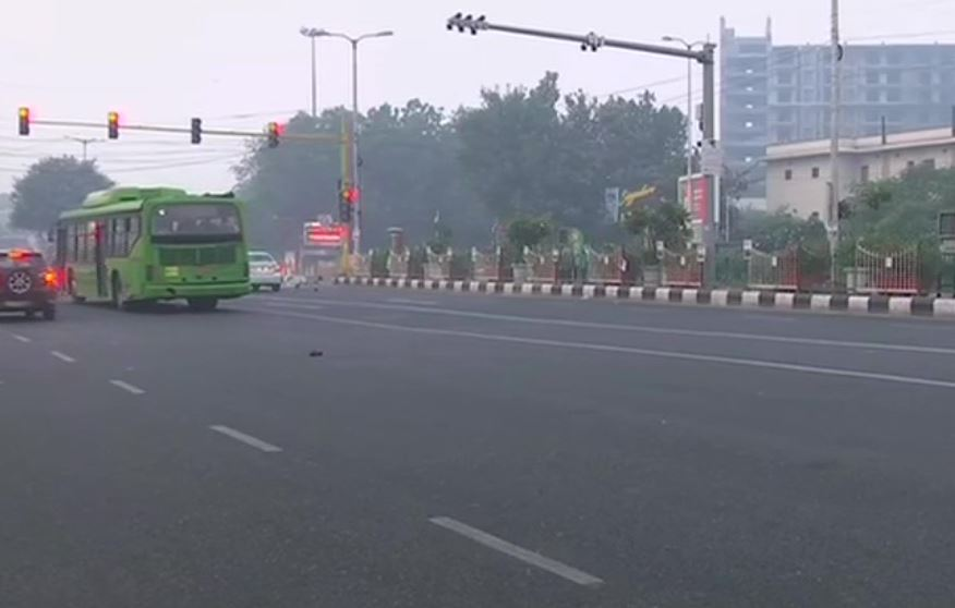 Air Quality Index at 331 in 'very poor' category at ITO