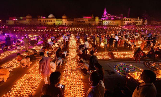 'Deepotsav' in UP's Ayodhya