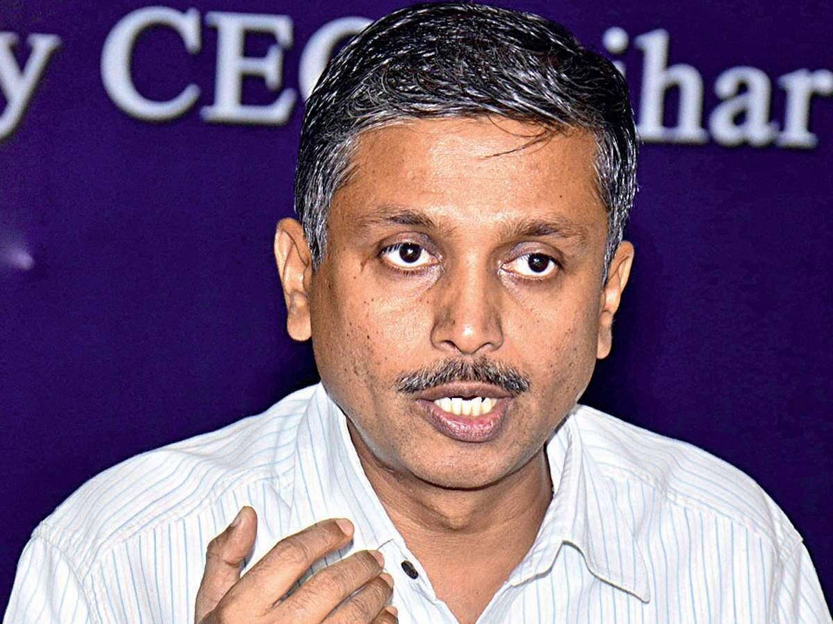 Bihar Chief Election Commissioner HR Srinivasa