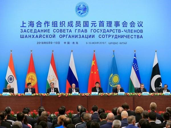Shanghai Cooperation Organization (SCO) summit in Qingdao, Shandong Province, China