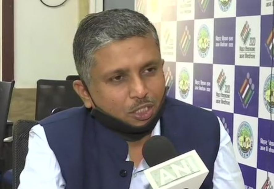 Chief Electoral Officer of Bihar, HR Srinivasa