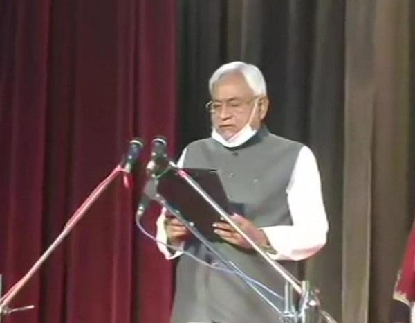 Nitish Kumar took oath