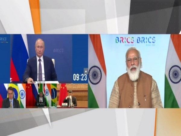 PM Modi at BRICS Summit