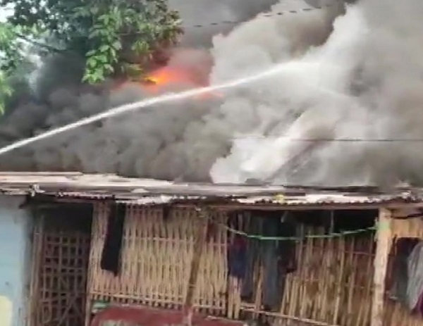 houses gutted in fire