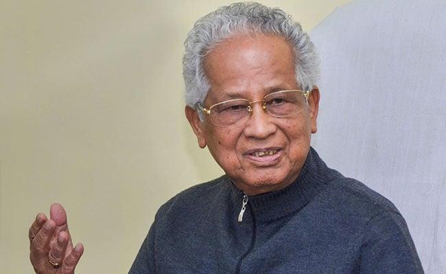 former Chief Minister of Assam Tarun Gogoi (File Photo)