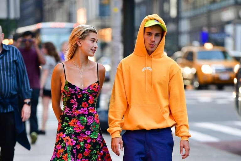 Singer Justin Bieber with wife Hailey  (File Photo)