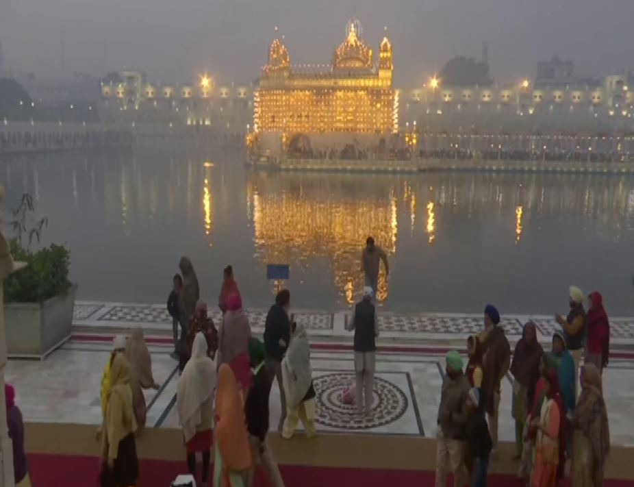 Visual from the Golden Temple, Amritsar