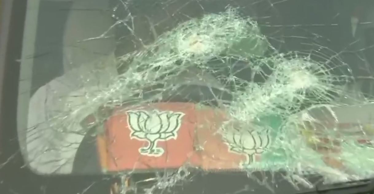 BJP President JP Nadda convoy attacked in West Bengal