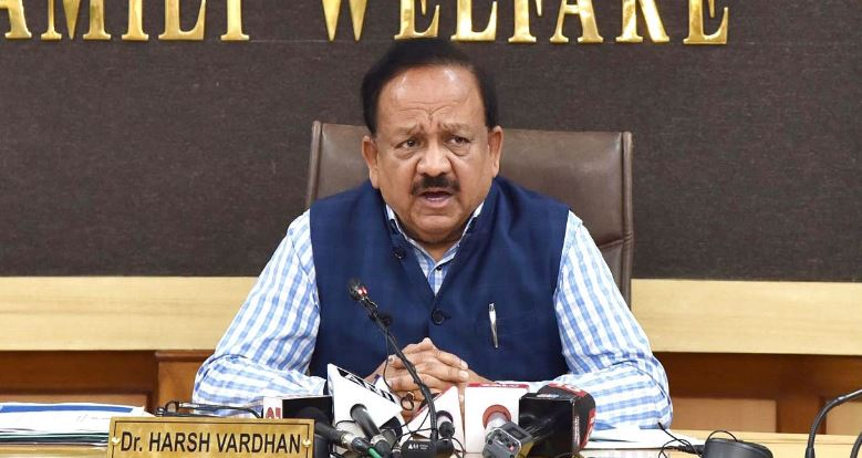 Union Minister of Health and Family Welfare, Dr. Harsh Vardhan