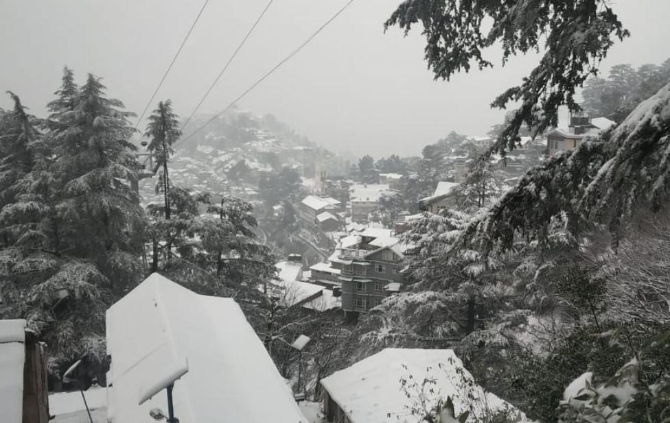Visuals from Jakhoo area of Shimla