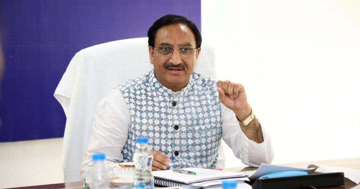 Union Education Minister, Ramesh Pokhriyal
