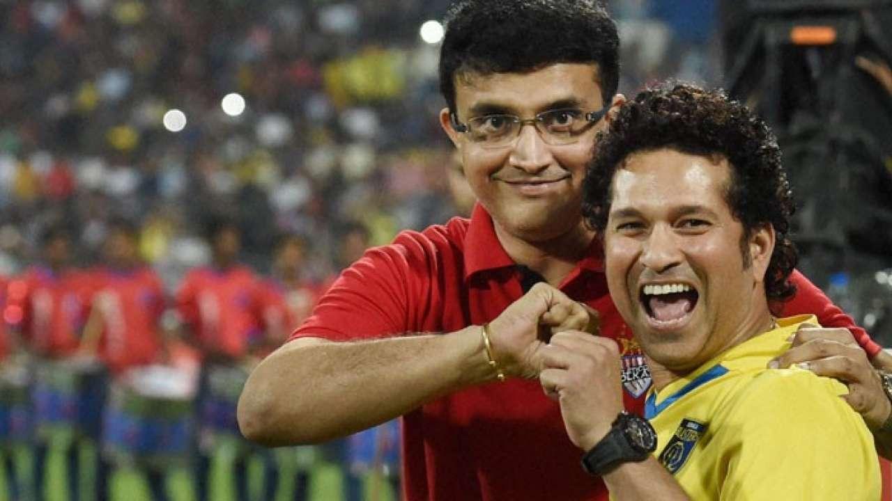 Sachin Tendulkar and Sourav Ganguly (File Photo)