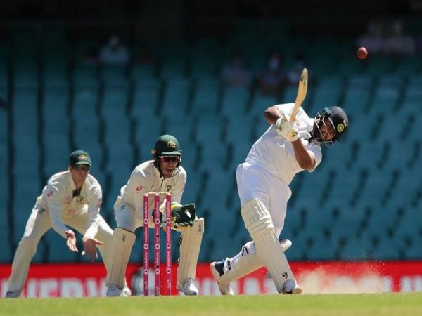 Rishabh Pant in action against Australia (Photo/ BCCI Twitter)