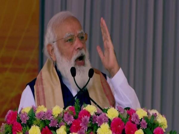 Prime Minister Narendra Modi in Assam