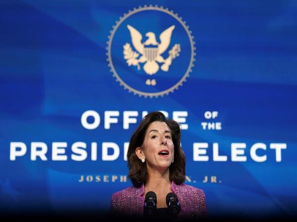 US Department of Commerce Gina Raimondo